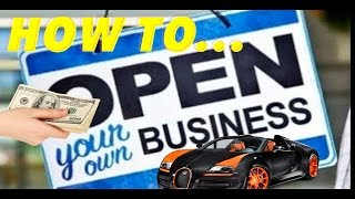 How to start your own business - Make an LLC and get a DBA - Real estate investing