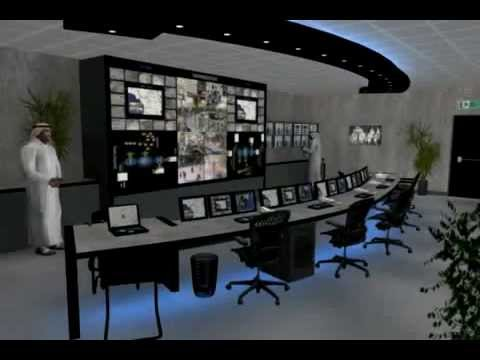 Control Room Furniture Property intech solutions: control room furniture cad walkthrough - youtube