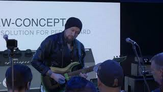 Andy James performing at Namm for like 30 seconds and with horrible audio