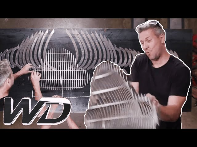 Making A Custom Front Grill For An Alfa Romeo | Ant Anstead Master Mechanic