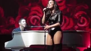 Video Stone Cold (Live) - Demi Lovato (ft. Nick Jonas) || Future Now Tour 2016 download MP3, 3GP, MP4, WEBM, AVI, FLV Mei 2018