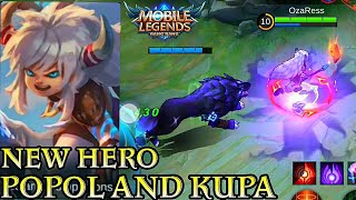 New Hero Popol And Kupa - Mobile Legends Bang Bang