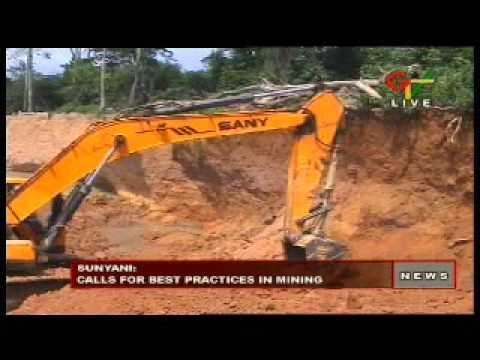 Calls For Best Practics In Mining
