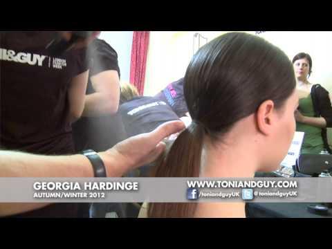 TONI&GUY @ Georgia Hardinge AW12 - London Fashion Week