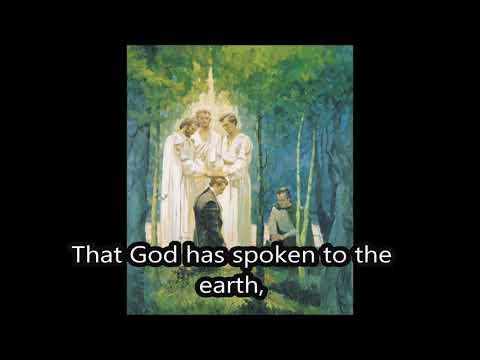 The Priesthood is Restored with Lyrics