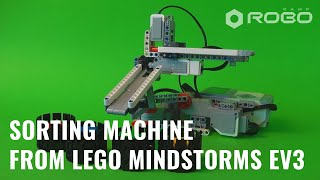 Sorting Machine Lego Mindstorms Ev3 By Robocamp
