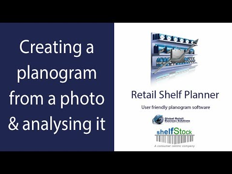 Retail Shelf Planner - Performing analysis on a planogram pdf or photo