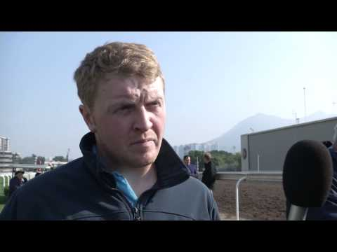 Trackside Interview - Eddie Power (Traveling Head Lad of GORDON LORD BYRON)
