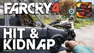 Hit and Kidnap Fail - Far Cry 4 - GameFails