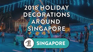 Where to See Christmas Lights, Decorations & SNOW in Singapore this Holiday Season