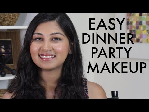 Dinner Party Makeup - Easy, Wearable Full Makeup Tutorial