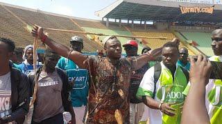 Entrée d'Ama Baldé à 13h au stade Léopold Sédar Senghor contre Papa sow