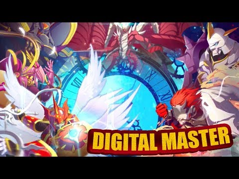 Digimon - Digital Master - NEW DIGIMON GAME! (Iphone/Android)