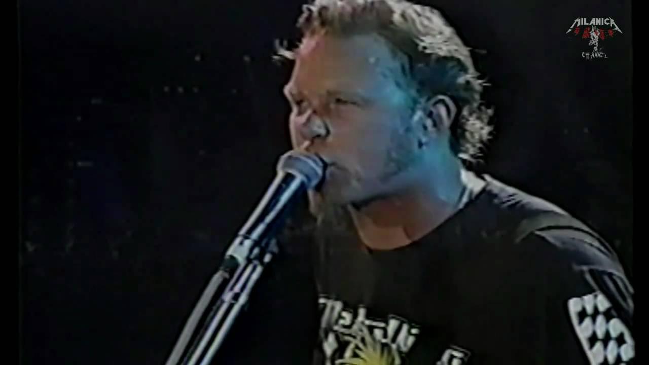 Metallica - Nothing else Matters - Korea - 1998 - YouTube