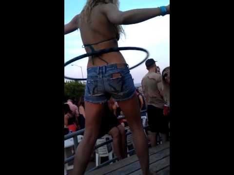 Rockaway Beach, NY. Hulahula dance