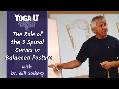The Role of the 3 Spinal Curves in Balanced Posture with Dr. Gill Solberg