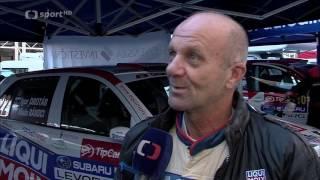 Pražský rallysprint 2016, reportáž ČT sport