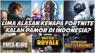 Five (5) reasons why Fortnite is quiet in Indonesia? (Lose Pamor Sama Free Fire & PUBG Mobile)