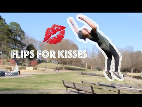 Flips for Kisses in Freedom Park