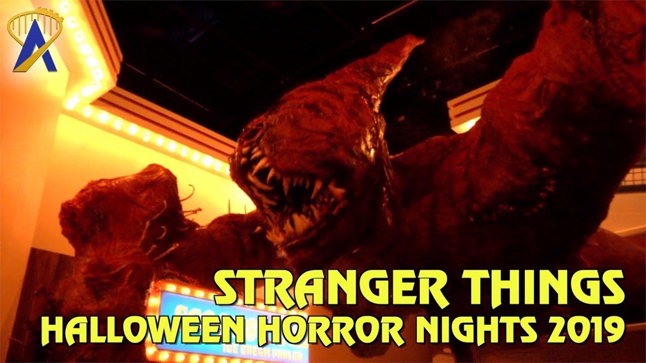 Halloween Horror Nights 2019 Poster.Stranger Things Highlights From Halloween Horror Nights Orlando 2019
