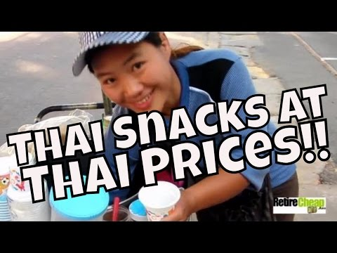 Thailand -- Eating Foreign Snacks at Thai Prices