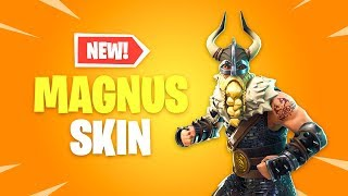 *NEW* Magnus Skin Arrives! Fortnite Battle Royale Daily Items Update