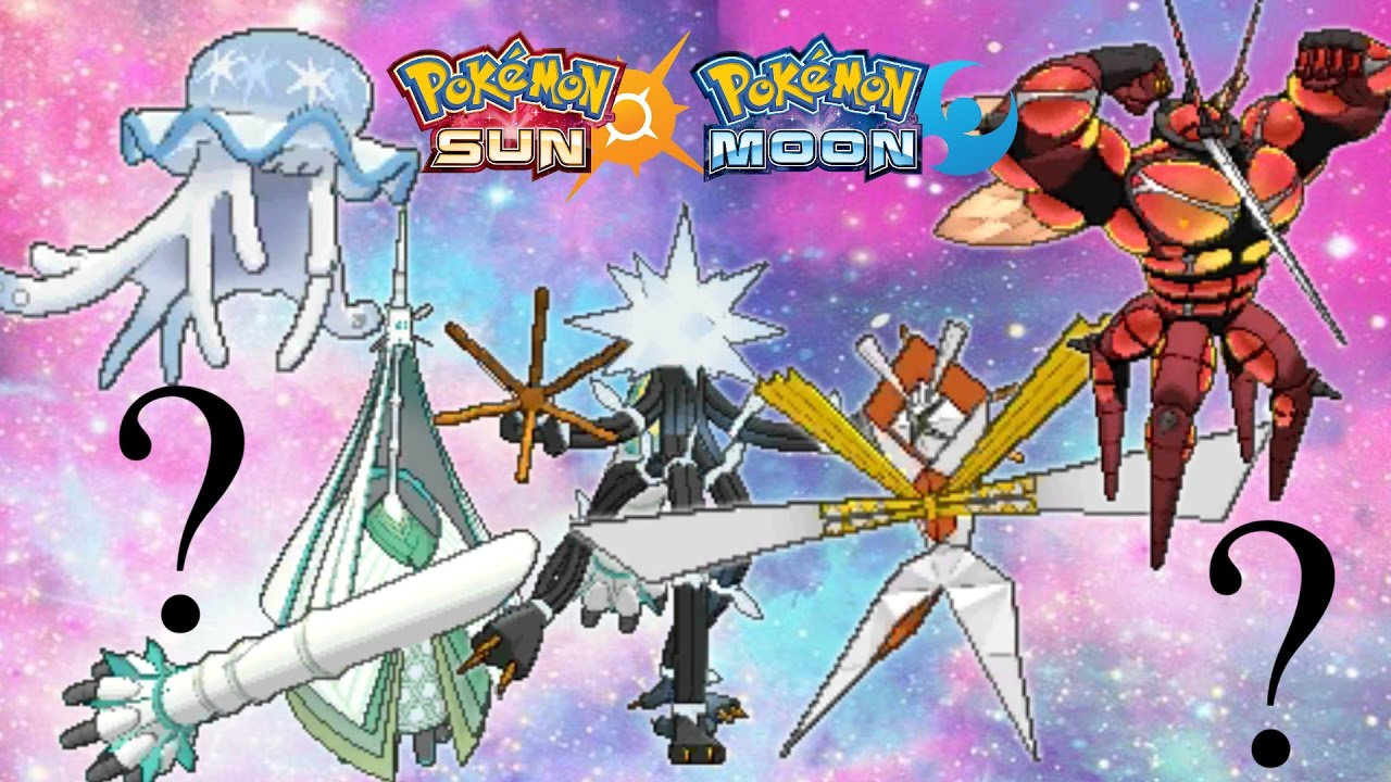 Download All Ultra Beasts in Pokemon Sun and Moon LEAK!! - UB-3, UB-4, and more!