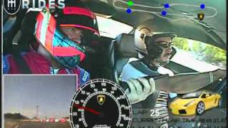 Salvador Ruiz Gutierrez Driving a Lamborghini Gallardo - Activities Cancun at Exotic Rides