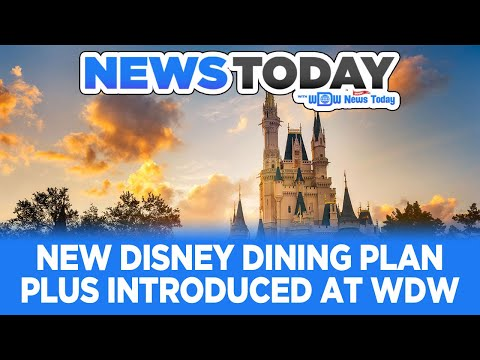 New Disney Dining Plan Plus, Coronavirus Delays Merch, Epcot Flower & Garden - News Today 2/24/20