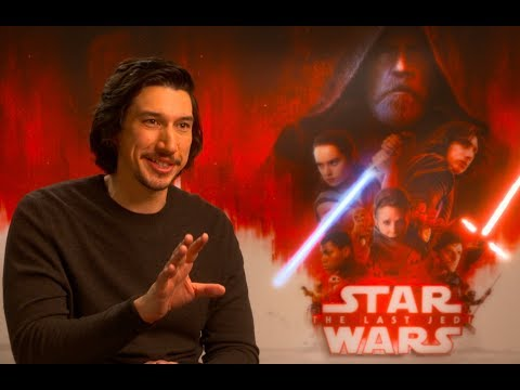 Adam Driver talks about Kylo Ren in STAR WARS - THE LAST JEDI - interview