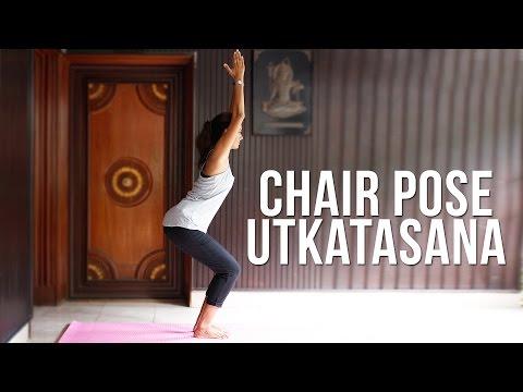 How to do Chair Pose Utkatasana