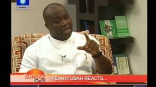 Finance Minister is playing Anambra politics -- Ifeanyi Uba - Part 1