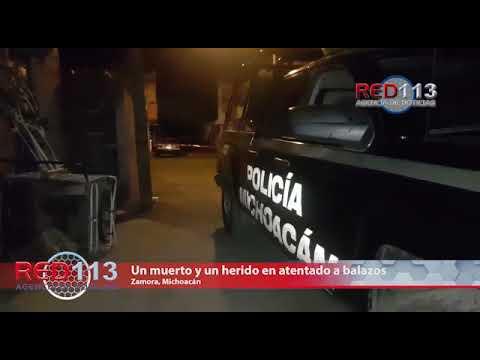 VIDEO Un muerto y un herido en atentado a balazos en la colonia La Libertad