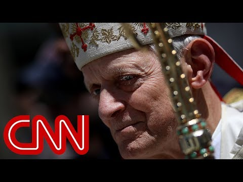 Catholic yells 'shame on you' to Cardinal Wuerl at church