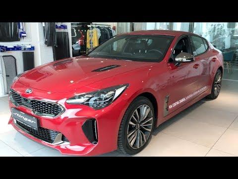 New KIA Stinger GT Line 2018 in depth review in 4K