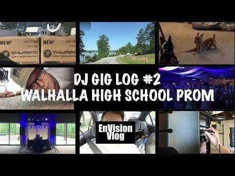 DJ Gig Log #2 // Walhalla High School Prom // 4/28/2018