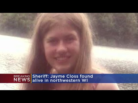 Jayme Closs Found Alive In Douglas County, Wisconsin