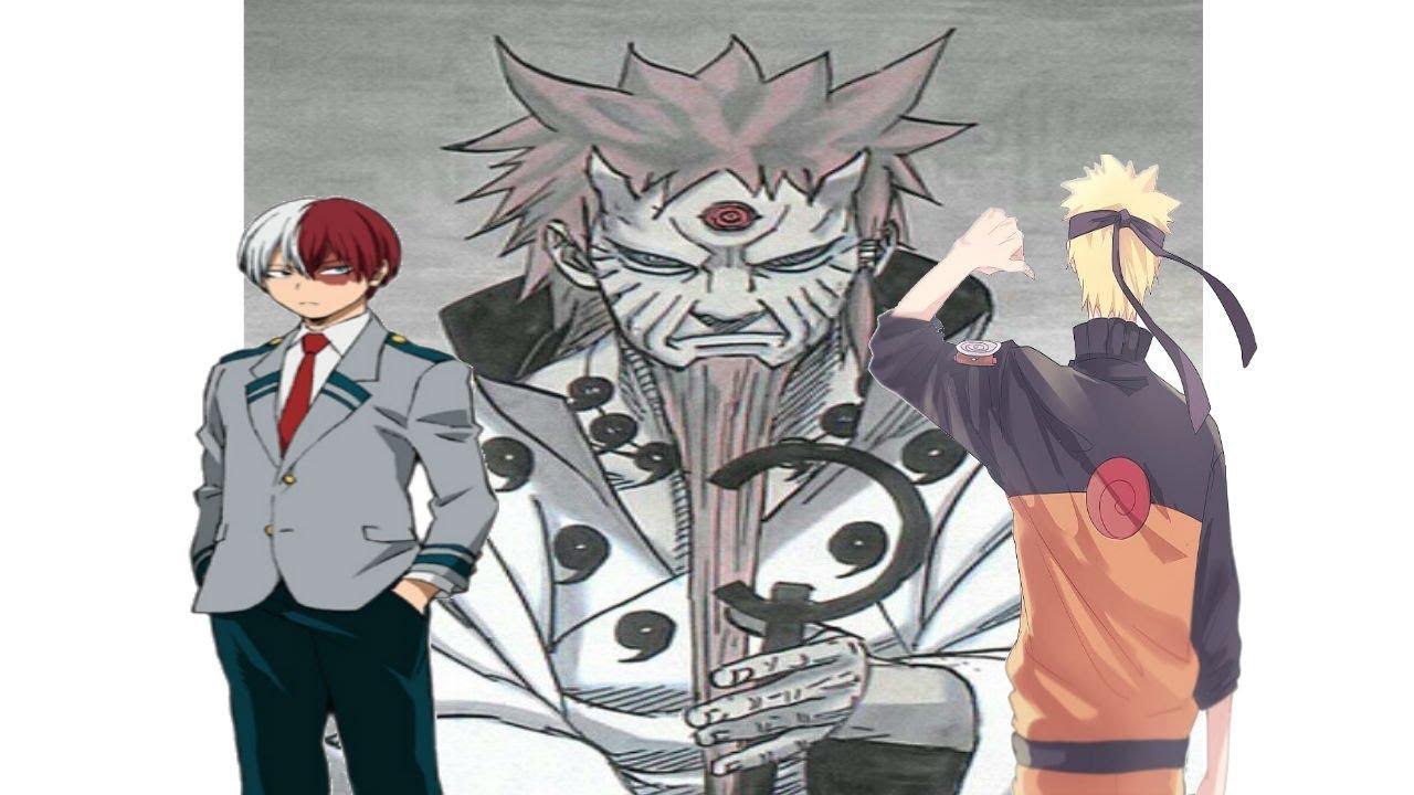 """""""Todoroki guardame el secreto""""Naruto en una dimension de ..."""