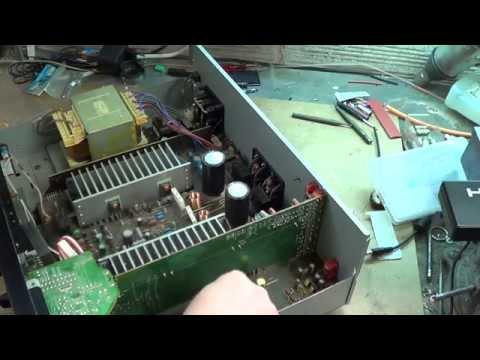 Réparation amplificateur Yamaha AX-490