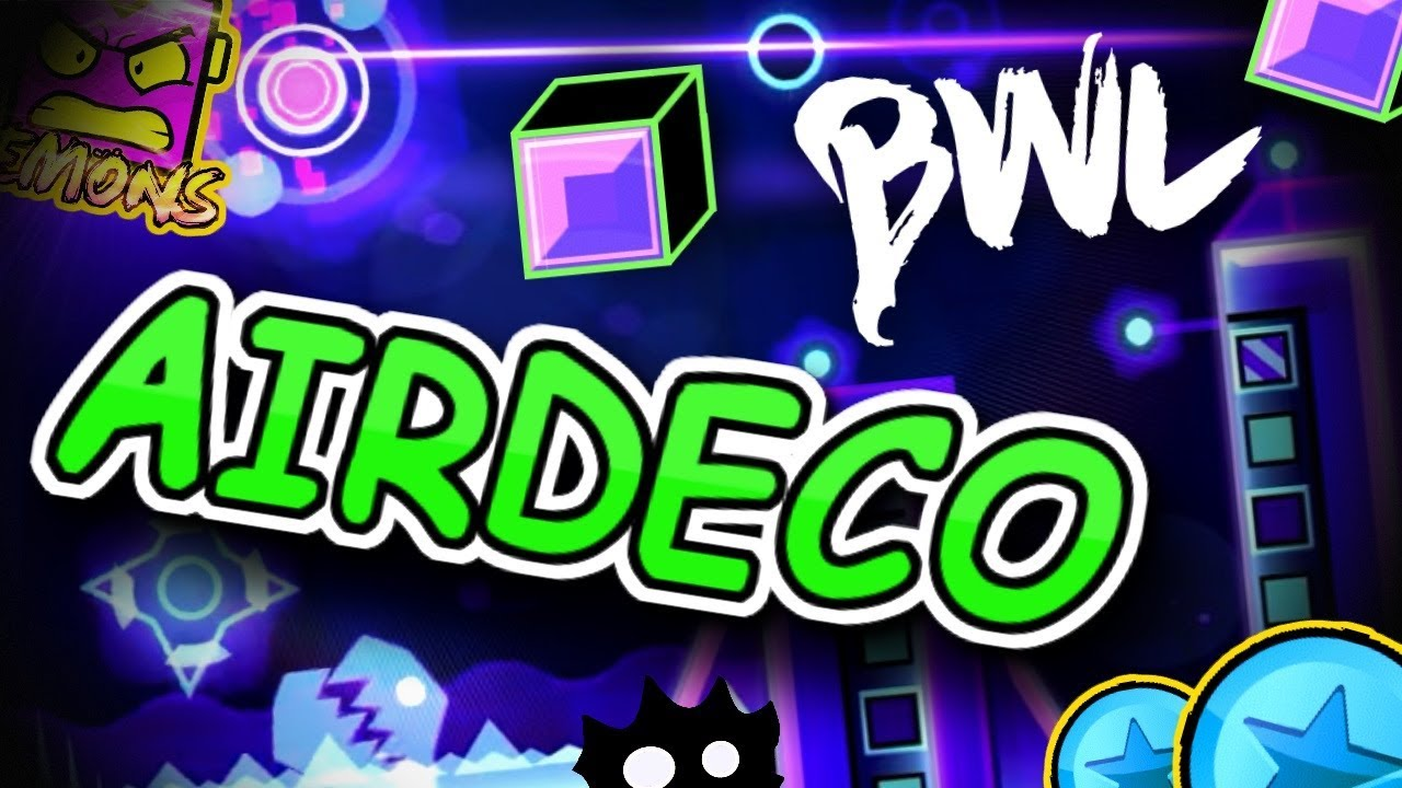 Building With Lemons - How to Airdeco! - Geometry Dash 2.11 - YouTube