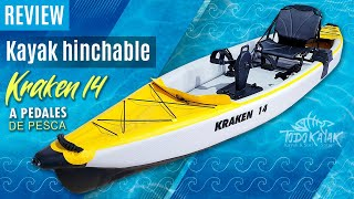 """Vídeo: Kayak Hinchable pedales """"Kraken 14"""""""