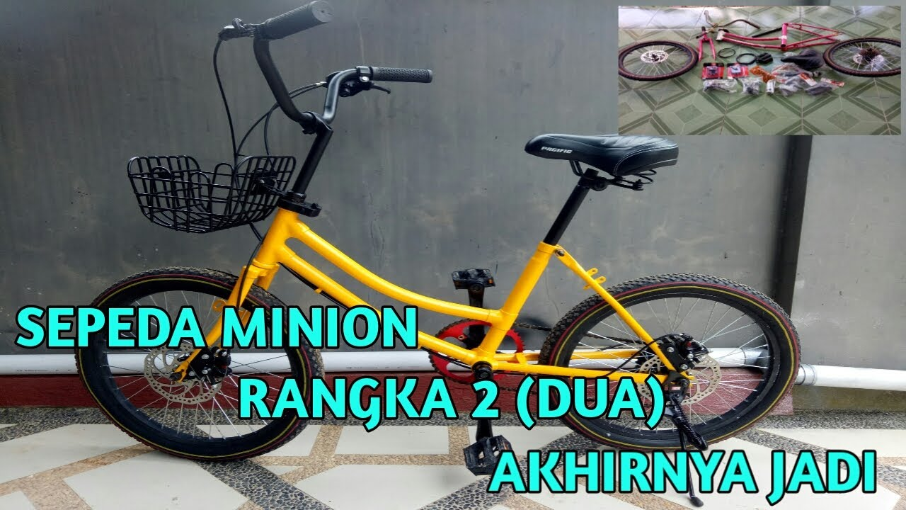 Sepeda Minion Rangka 2 Ternyata Keren Juga Youtube