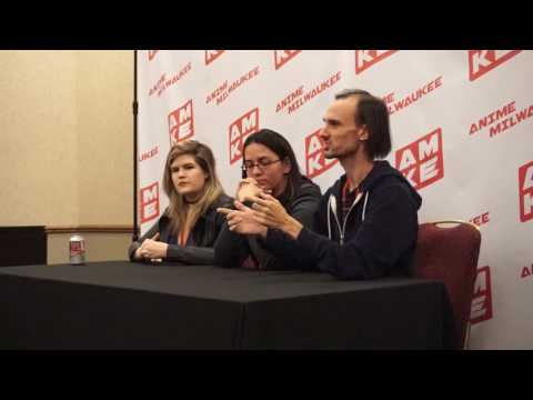 Anime Milwaukee 2017 Press Conference: Erica Lindbeck, Erica Mendez, and Lucien Dodge