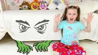 Лиза и веселая история про монстра под кроватью