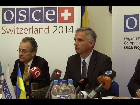 OSCE Chairperson-in-Office holds press conference in Kyiv