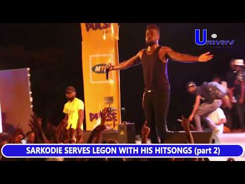 Sarkodie full performance with New release