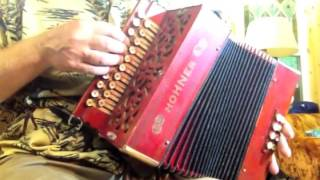 Hohner BbEb button accordion with brass reeds for sale