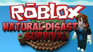 Disaster Natural in Roblox This got ugly!