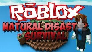 Desastres naturais em Roblox isso ficou feio!