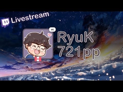 [Live] RyuK | Araki - Teo [Extra] +HDDT 98.41% {#1 721pp FC} - Osu!